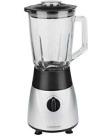 Cookworks Glass Blender - Silver