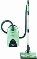 "Panasonic MC-CG985 ""OptiFlow"" Full Size Canister Vacuum Cleaner, Edge Green finish"