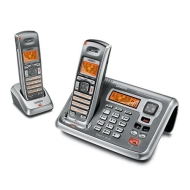 Uniden DECT2085-4WX-R DECT 6.0 Cordless Phone w/ 2 Extra Handsets & 1