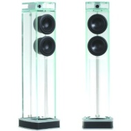 "Waterfall Audio ""Niagara"" Diamond Glass Floor Standing Loudspeakers - Pair (Old Version)"