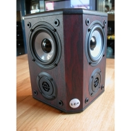 Wharfedale WH-2BLK Center-Channel Speaker (Black)