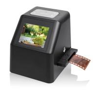 """7dayshop Escaner HD portátil de 22MP para diapositivas y negativos de 35 mm, Súper 8 mm, 110 Cine, 126 películas y 127 de Cine. Pantalla de 2,4 """""""" en"""
