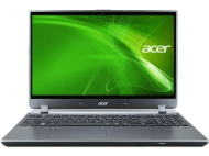 "Acer Silver 14"" Aspire M5-481T-6831 Laptop PC with Intel Core i5-3337U Dual-Core Processor, 6GB Memory, 500GB Hard Drive + 20GB SSD and Windows 7 Home"