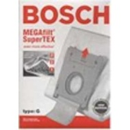 Bosch Part#462544 - Genuine Type G MEGAfilt SuperTEX Vacuum Bag (BBZ51AFG2U) - Fits Bosch Compact Series and Formula Series Vacuums - 5/Package