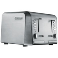 Delonghi 4 slice Toaster-Stainless