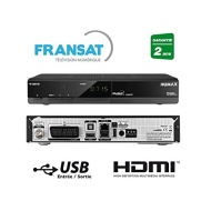 Humax FR1000HD - Ricevitore Fransat Connect HBBTV + scheda, colore: nero