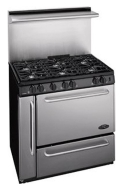 Premiere Ranges P36S338BP Gas Range
