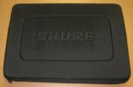 Shure Hard Cloth Microphone Carry Case For SM57 & Beta 52A Microphones