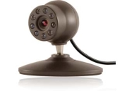 GE 45231 Home Monitoring Wired Color Camera with Night Vision - CCTV camera - color ( Day&Night ) - fixed focal - 360 TVL - audio