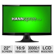 "HF225DPB 22"" Black Widescreen LCD Monitor (1920x1080, 5ms, DVI)"
