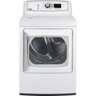 GE Profile Harmony 7.3 Cu. Ft. Stainless Steel Gas Steam Dryer - PTDS850GMWW