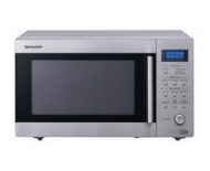 Sharp R27STMA Microwave Oven, Stainless Steel