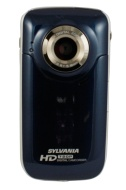Sylvania DV6000G-BL Digital Video Camcorder with HD Recording, 8x Optical Zoom, and 2-Inch LCD Screen, Blue
