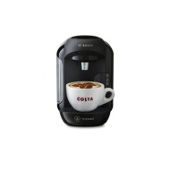 Tassimo by Bosch - Black 'Vivy' espresso coffee machine TAS1252GB