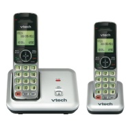 Cordless DECT 1.9GHz Digital with Caller ID, Silver/Black