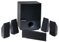 Harman Kardon Harman/kardon HKTS 10 - Speaker system - For home theatre - 5.1-channel - wired - black