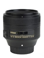 Nikon Nikkor AF-S 85 mm F/1.8G