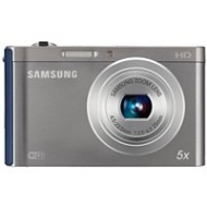 Samsung EC-DV300FBPBUS DV300F Black 16MP DualView Digital Camera with 5x Zoom