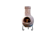 Small Clay Chiminea.