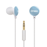 Breo Sport Candy Drop Blue Noise Reducing Earphones