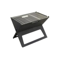 Fire Sense - Notebook Charcoal Grill - Black 60508