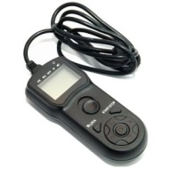 JJC TM-F Multi-Function Timer Remote Control compatible with Sony RM-S1AM, RM-L1AM for Sony Alpha SLT-A33, SLT-A35, SLT-A55, SLT-A57, SLT-A65, SLT-A77