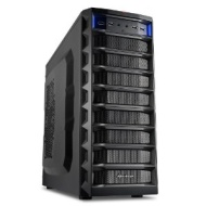 "Sharkoon REX8 Value Midi Tower ATX, 5x 5.25"", Black (4044951013203)"