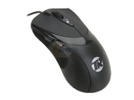 Tek Republic TM Black 7 Buttons 1 x Wheel USB Wired Laser 3600 dpi Gaming Mouse