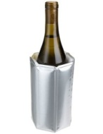 Vacu Vin Rapid Ice Wine Chiller, Chrome