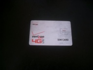 Verizon Wireless 4G LTE MICRO SIM Card 3FF - Brand New and Unused