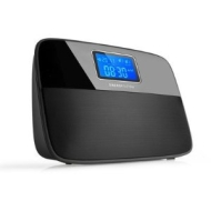 Energy Sistem® Alarm Clock with MP3 player and FM radio EnergyTM Clock Radio 400 Time Music.