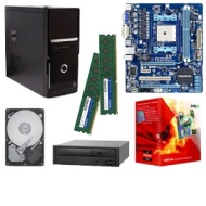 GIGABYTE GA-A75M-S2V AMD A Series Motherboard and AMD Quad-Core A6-3650 2.6GHz Radeon HD 6530D APU Bundle