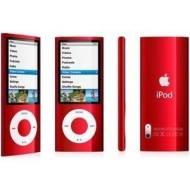 Apple iPod nano 16GB, 5th generation, Red