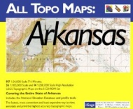 iGage All Topo Maps Arkansas Map CD-ROM (Windows)