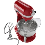 KitchenAid Professional 600 6 qt Stand Mixer -Empire Red