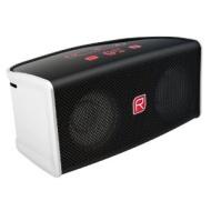 Raikko TOUCH Bluetooth Stereo mini aktiv Lautsprecher inkl. Akku (2x 3 Watt, micro-USB, Line-IN) rot