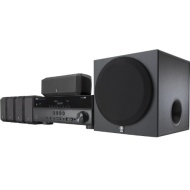 YHT-397 5.1 3D Ready Home Theater System - 600 W RMS - Black (Dolby TrueHD, DTS-HD Master Audio, Dolby Digital Plus, DTS-HD High Resolution, DTS HD, D
