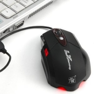2400DPI Sidewinder 6 Buttons LED Laser Optical Gaming Mouse Mice PC LAPTOP BLACK Brand New!!5 million clicks, 12-Month warranty,top gaming winning!!