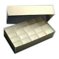 "Adorama Archival 35mm Size # 400 Slide Storage Box with Divider Boxes, Holds 400 Slides, 11 1/4"" x 6"" x 2 1/2""."