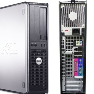 Dell OptiPlex 745 Pentium D 3400 MHz, 750GB HDD, 4096mb DDR2 Memory, DVD-RW, Genuine Windows 7 Professional Preloaded, Desktop PC Computer, Profession