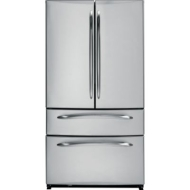 GE Profile PFIC1NFZWV 20.9 cu. ft. French Door Refrigerator with Spill Proof Glass Shelves, ClimateK