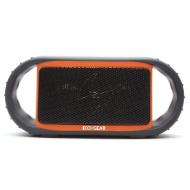 Grace Digital ECOXGEAR ECOXBT Rugged and Waterproof Wireless Bluetooth Speaker - Orange