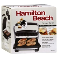 Hamilton Beach Indoor Grill, with Panini Press, 1 grill