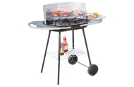 Trolley Charcoal BBQ with Shelf