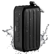 [Waterproof Speaker] Ayfee Ultra-Compact Portable Bluetooth 4.0 Speaker, Rugged IPX6 Outdoor/Shower NFC Wireless Bluetooth Speaker with 7W Powerful Dr
