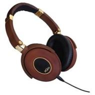 iGo 48001960 City Active Noise Canceling Headphones, Brown / Gold