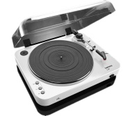 LENCO L-85 Turntable - USB, White