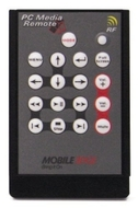Mobile Edge PC Media Remote - Presentation remote control - radio
