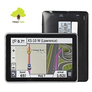 Noza Tec 5 Inch GPS Sat Nav Navigation System Navigator Touch Screen with UK Europe AU US Maps
