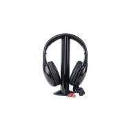 MH2001 5-in-1 Hi-Fi S-XBS Wireless Headphones w/FM Radio